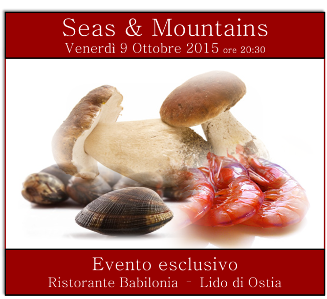 Evento Seas & Mountains