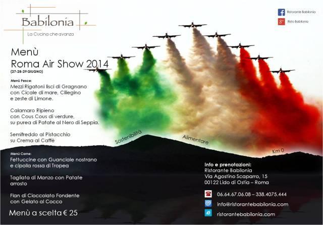 Locandina evento Air Show 2014