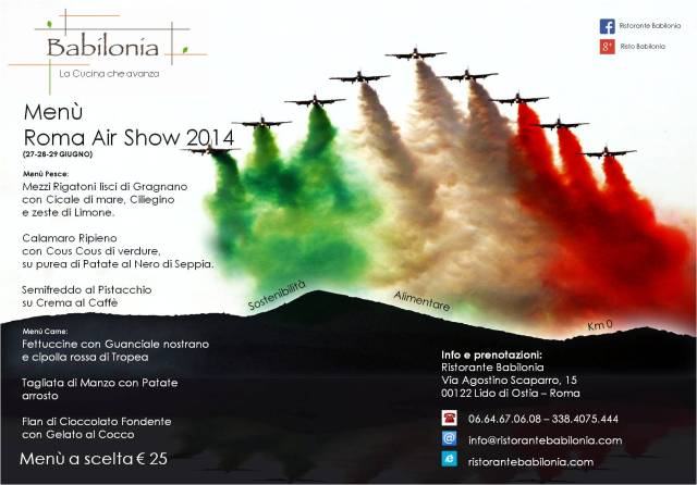 Locandina evento Air Show 2014