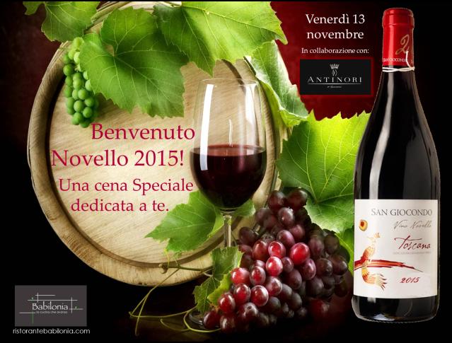Locandina Benvenuto Novello 2015