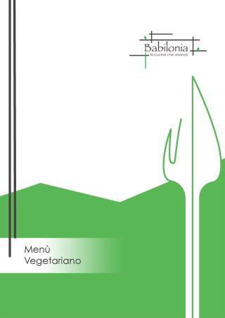 Copertina Menù Vegetariano Estate 2017
